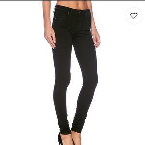 7 For All Manking Gwenevere Black Jeans Size 25